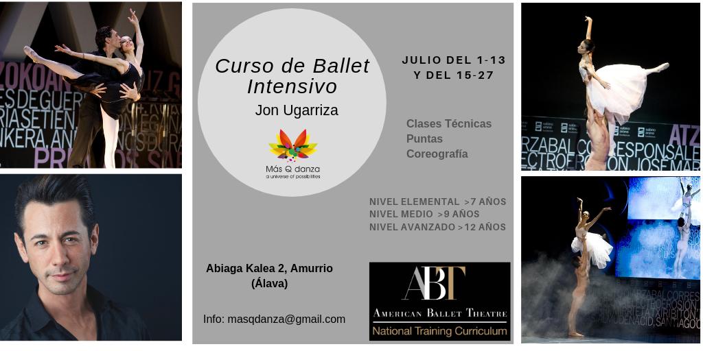 Curso de Ballet Verano Jon Ugarriza